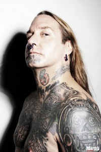 DevilDriver+Dez+Fafara+Tattoos