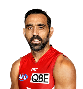 Adam Goodes, courtesy of www.sydneyswans.com.au